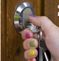 change the locks on your new home